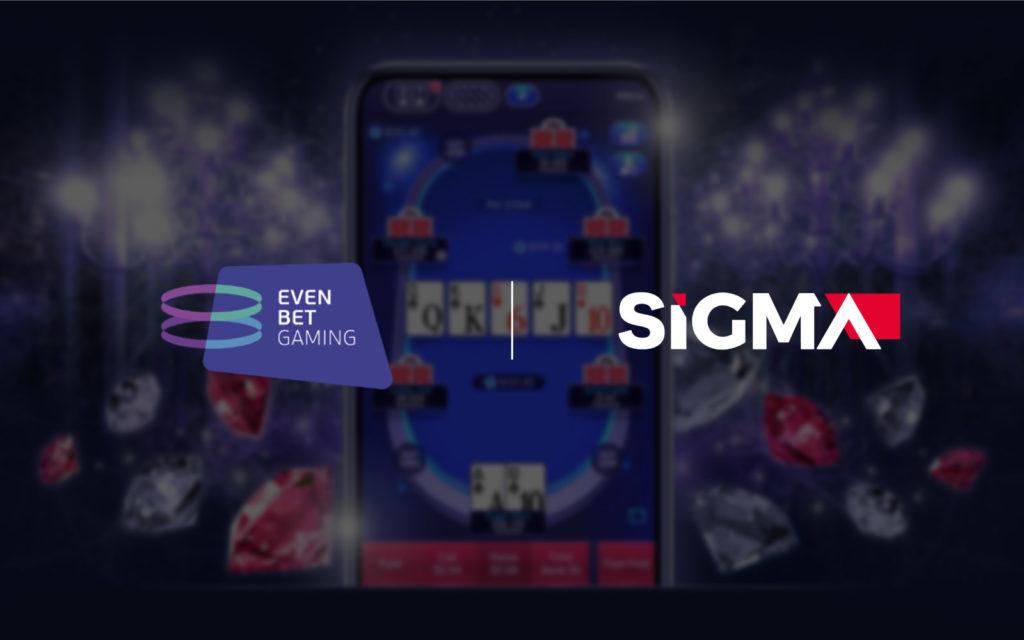 EvenBet Gaming + SiGMA